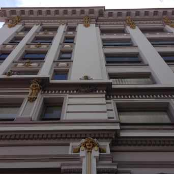 Photo of Spreckels Building in Horton Plaza, San Diego