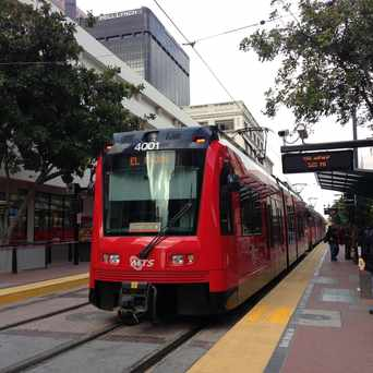 Photo of Fifth Avenue Trolley Station in Core-Columbia, San Diego