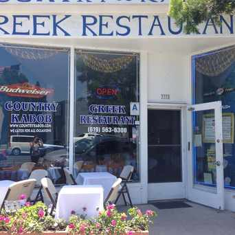 Photo of Country Kabob Greek Restaurant in Normal Heights, San Diego