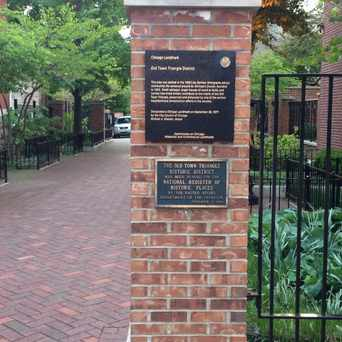 Photo of Old Town Triangle Historical Marker in Near North Side, Chicago