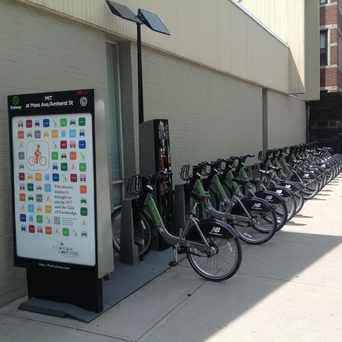 Photo of Hubway: MIT at Mass Ave / Amherst St in MIT, Cambridge