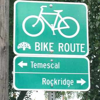 Photo of Rockridge Bike Route in Temescal, Oakland