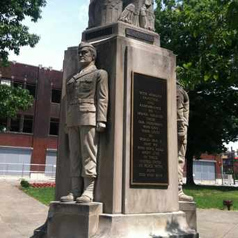 Photo of World War I Memorial in Bloomfield, Pittsburgh