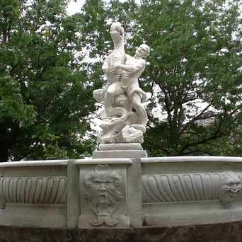 Photo of Severance Fountain in Cleveland Heights