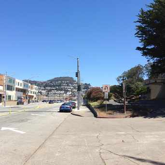Photo of Phelan Ave - Eastern Border of Westwood Park in Sunnyside, San Francisco