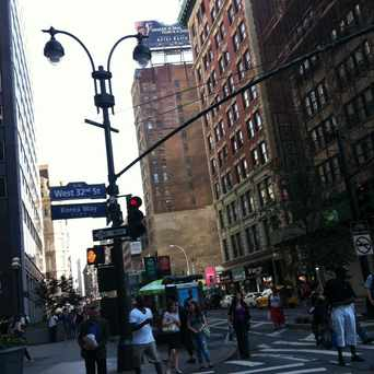 Photo of 32nd Street & Broadway in Koreatown, New York