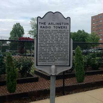 Photo of Arlington Radio Towers Sign in Penrose, Arlington