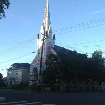 Photo of The Pink Church in Eliot, Portland