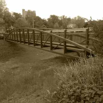 Photo of Bridge over the Storm Water Retention Area in Seward, Minneapolis