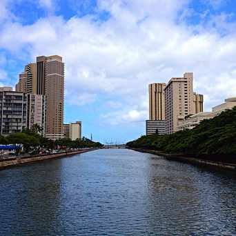 Photo of Ala Wai Canal in Mccully - Moiliili, Honolulu