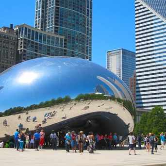 Photo of Cloud Gate at Millenium Park in Grant Park, Chicago