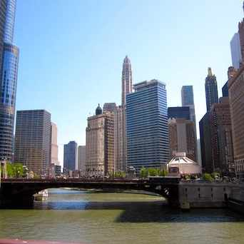 Photo of Chicago River in The Loop, Chicago