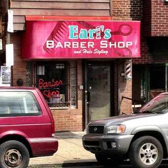 Photo of Earl's Barber Shop in Kingsessing, Philadelphia