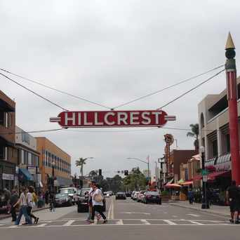 Photo of 5th Av & University Av in Hillcrest, San Diego