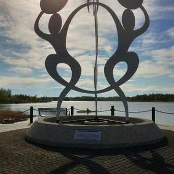 Photo of Sombe K'e Civic Plaza in Yellowknife