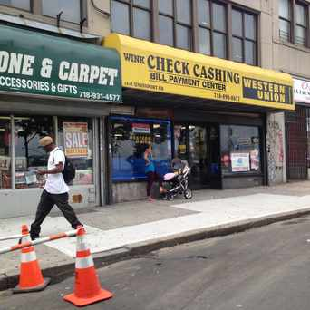 Photo of Wink Check Cashing Corporation in Parkchester, New York