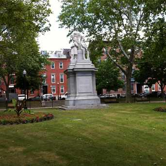 Photo of Winthrop Square in Thompson Square - Bunker Hill, Boston