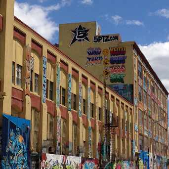 Photo of 5Pointz in Long Island City, New York
