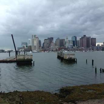 Photo of East Boston Waterfront in Central Maverick Square - Paris Street, Boston