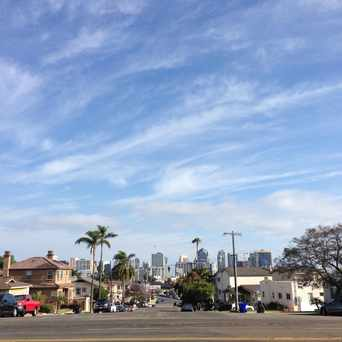 Photo of Intersection of Laurel Street and Curlew Street in Park West, San Diego