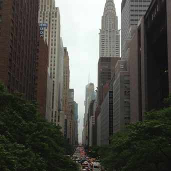 Photo of 42nd St. And Tudor City Place in Midtown East, New York