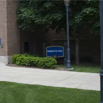 Photo of Marquette University Hall in Oak Park