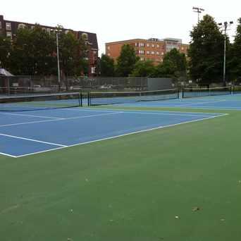 Photo of WM E Carter Courts in Lower Roxbury, Boston