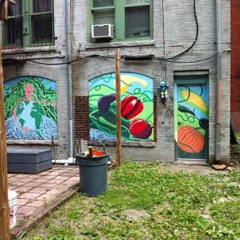 Photo of Greenwich & Hammond Streets Mural in Lower Roxbury, Boston