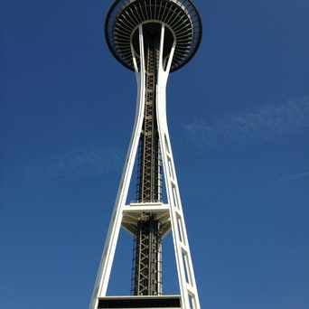 Photo of The Space Needle in Lower Queen Anne, Seattle