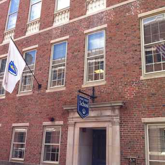 Photo of Park Street School in Beacon Hill, Boston