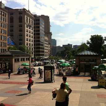 Photo of Park Street Station in Beacon Hill, Boston