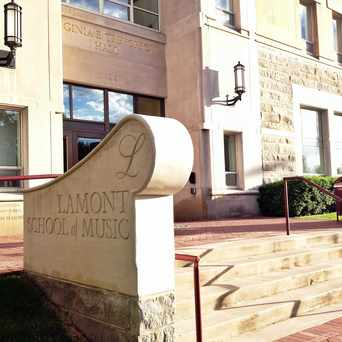 Photo of Lamont School of Music in University, Denver