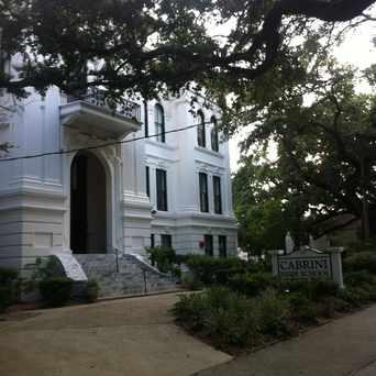 Photo of Cabrini High School in Bayou St. John, New Orleans