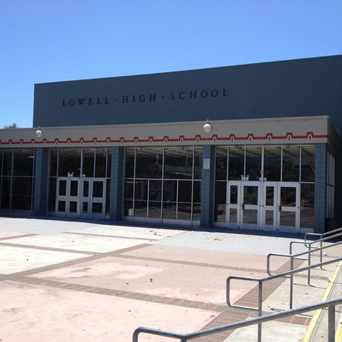 Photo of Lowell High School in Merced Manor, San Francisco
