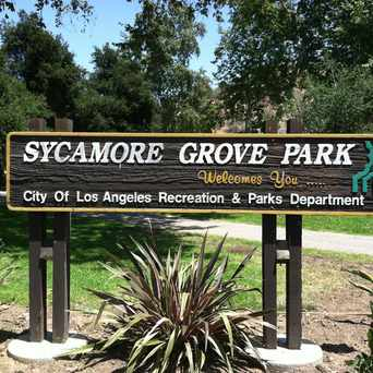 Photo of Sycamore Grove Park in Highland Park, Los Angeles