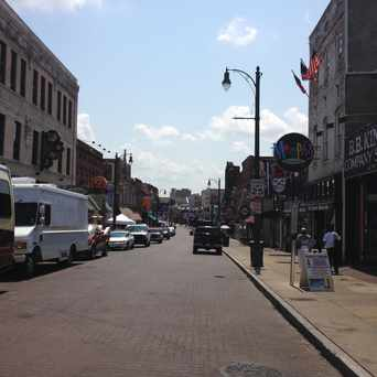 Photo of Beale Street in Memphis