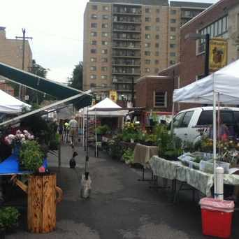 Photo of Tuesday Farmer's Market in State College