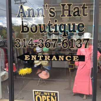 Photo of Ann's Hat Boutique in Central West End, St. Louis