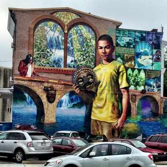 Photo of CPMAP 52nd And Master St Mural in Carroll Park, Philadelphia