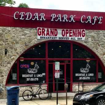 Photo of Cedar Park Cafe in Overbrook, Philadelphia
