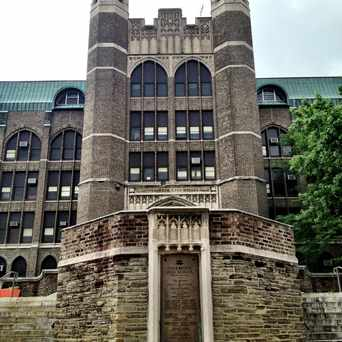 Photo of Overbrook High School in Overbrook, Philadelphia