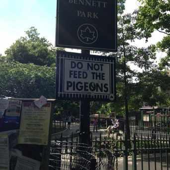 Photo of Bennett Park in Washington Heights, New York