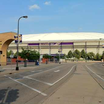 Photo of Hubert H. Humphrey Metrodome in Downtown East, Minneapolis