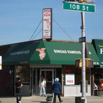 Photo of Singas Famous Pizza in Elmhurst, New York