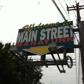 Photo of Manayunk Welcome Sign in Manayunk, Philadelphia