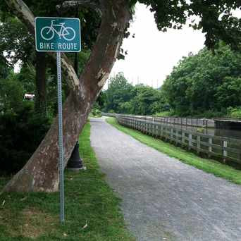 Photo of Canal Tow Path in Manayunk, Philadelphia