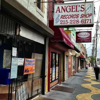 Photo of Angel Record Shop in Fairhill, Philadelphia