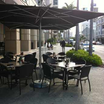 Photo of Outdoor Seating Area in Downtown, Fort Lauderdale