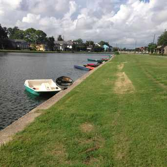 Photo of Bayou Road in City Park, New Orleans
