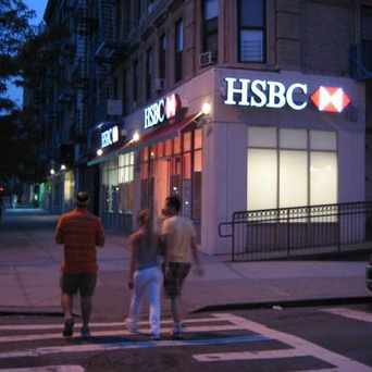 Photo of HSBC Bank in Central Harlem, New York
